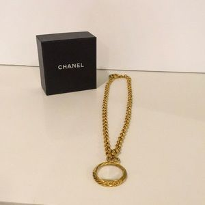 🌟ONE DAY SALE🌟 Chanel Magnifying Glass Necklace